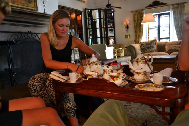 Kagebuffet på luksushotel