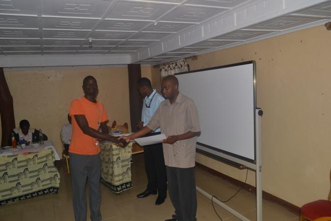 Certifikater uddeles